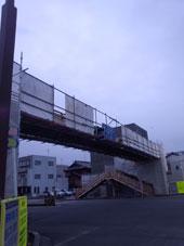 歩道橋 塗装工事