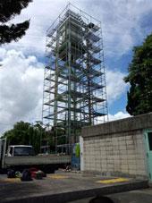 高架水槽 塗装工事