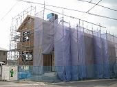 足場施工事例 内田建築S邸